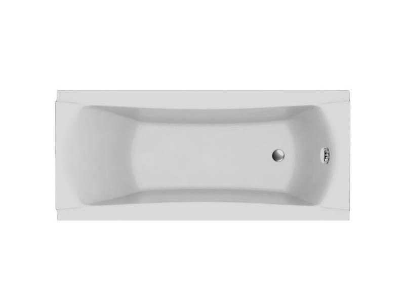 Акриловая прямоугольная ванна Relisan Loara 180x80 см