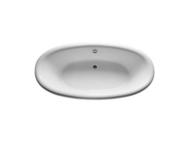Акриловая овальная ванна Relisan Neona 180x90 см