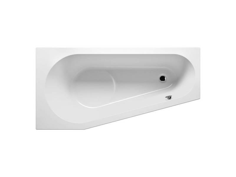 Акриловая асимметричная ванна Riho Delta 160х80 см R правая