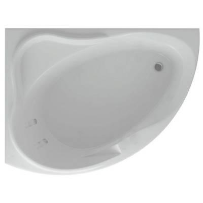 Акриловая ванна Акватек Альтаир левая 160x120