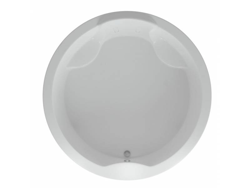Акриловая ванна круглая Акватек Аура 180 см