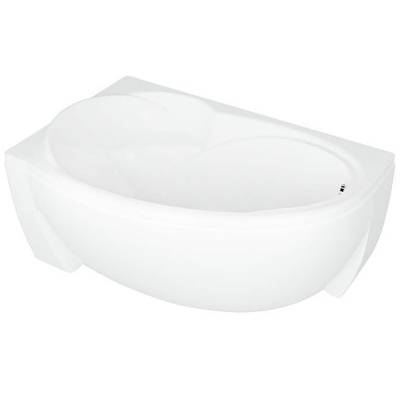 Акриловая ванна Акватек Бетта левая 150x95