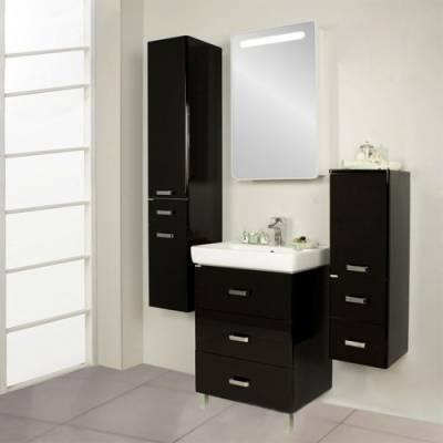 Комплект мебели  Акватон Америна 70 М чёрный