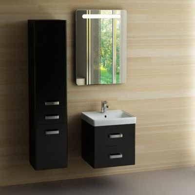 Комплект мебели Акватон Америна 60 чёрный