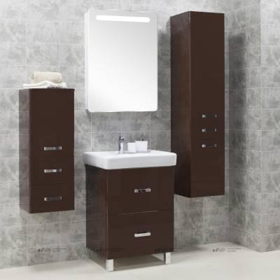 Комплект мебели Акватон Америна  70 Н тёмно-коричневый