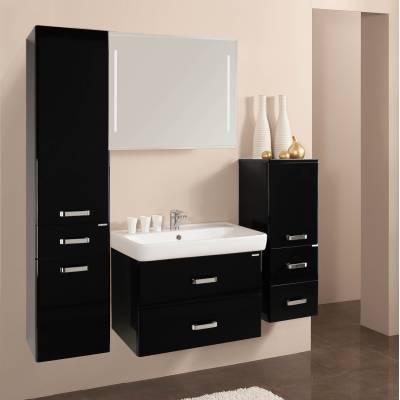 Комплект мебели Акватон Америна 70 чёрный