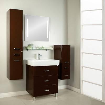 Комплект мебели Акватон Америна 80 М тёмно-коричневый