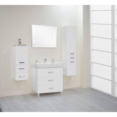 Комплект мебели Акватон Америна 80 М белый