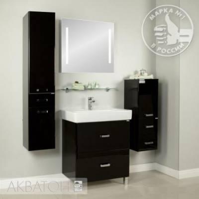 Комплект мебели Акватон Америна 80 Н  чёрный