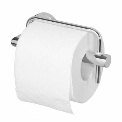 Держатель для туалетной бумаги с фиксатором Aquanet хром 187042