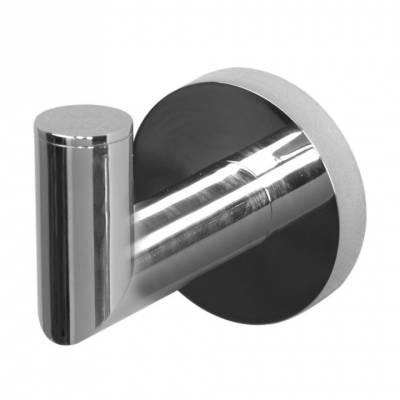 Крючок одинарный Aquanet хром 187038