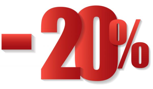 20% - скидка на акриловые ванны Riho (Рихо)