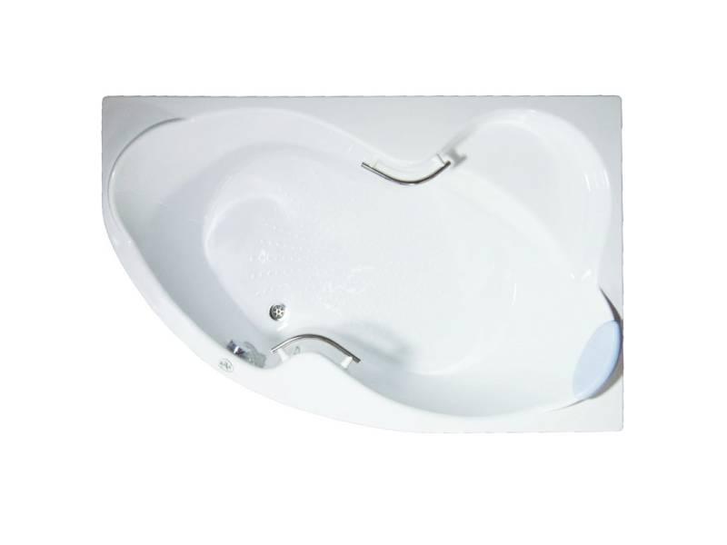 Акриловая угловая ванна Bellrado Индиго 1690*1100*715 левая