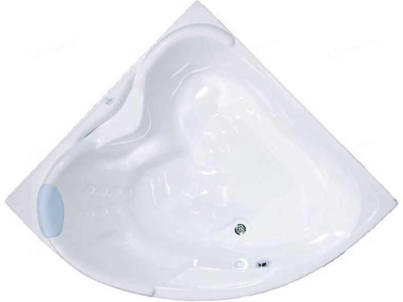 Акриловая угловая ванна Bellrado Лора 150x150x70