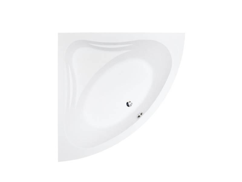 Акриловая угловая ванна Besco Mia 120x120 см