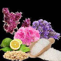 Рецепт цветной морской соли для ванн