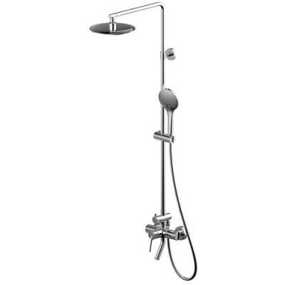 Душевая колонна со смесителем для ванны Bravat Palace F6172217CP-A-RUS