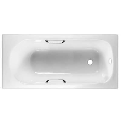 Чугунная ванна Byon 13 150x70x42 см ручки хром