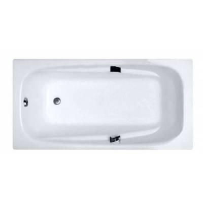 Чугунная ванна Castalia Emma 180x85x42 ручки хром