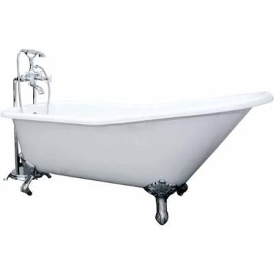 Чугунная ванна Elegansa Schale chrome