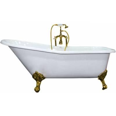 Чугунная ванна Elegansa Schale gold