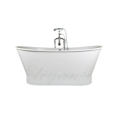 Чугунная ванна Elegansa Sabine White