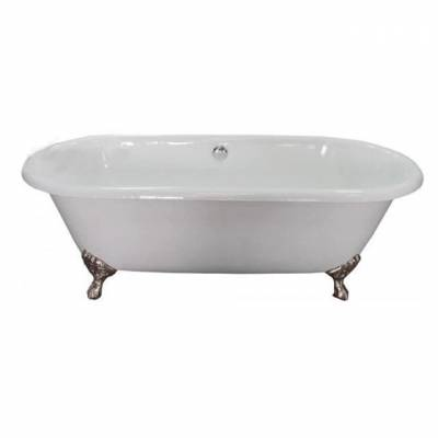 Чугунная ванна Elegansa Gretta bronze