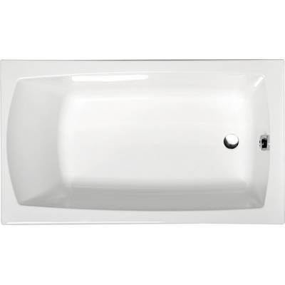 Акриловая ванна Alpen Lily 120x70