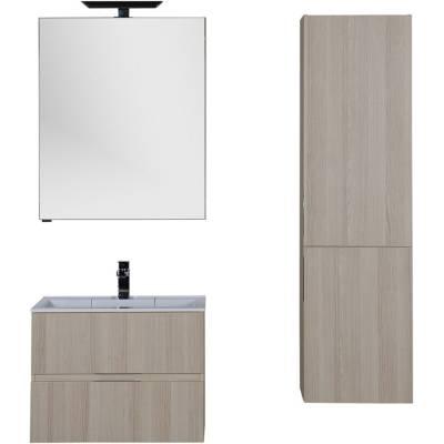 Комплект мебели для ванной Aquanet Алвита 70 ясень коимбра