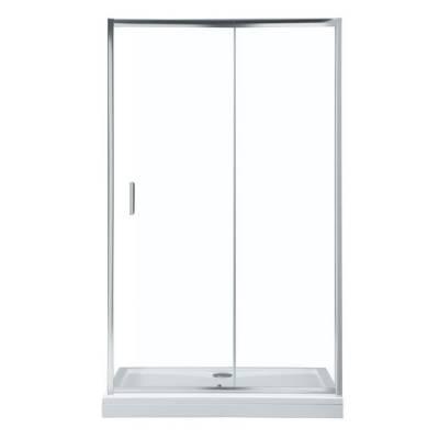 Душевая дверь 120Aquanet SD-1200A прозрачное стекло