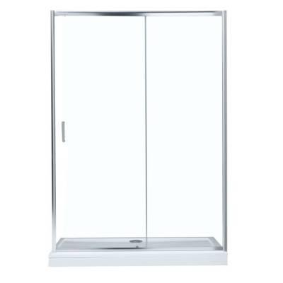 Душевая дверь 140 Aquanet SD-1400A прозрачное стекло