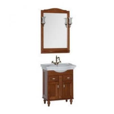 Комплект мебели для ванной Aquanet Амелия 70 орех