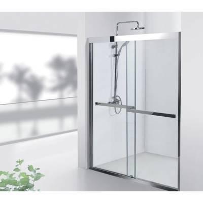 Душевая дверь 140 Aquanet Delta NPD6122 прозрачное стекло