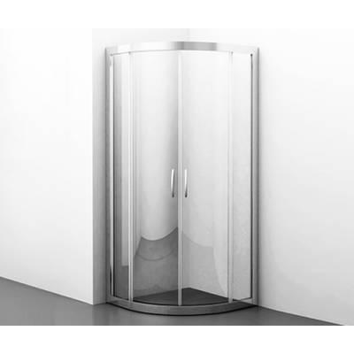 Душевой уголок с раздвижными дверьми 80х80 Wasserkraft Isen 26S00