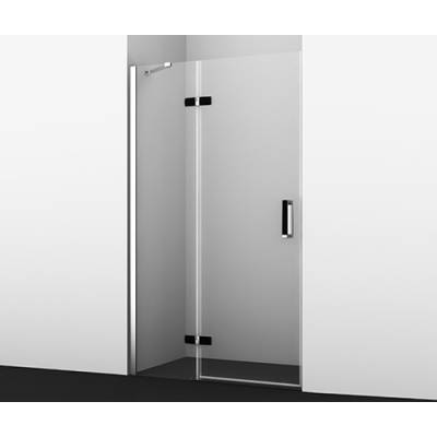 Душевая дверь распашная левая 120Wasserkraft 10H05LBLACK