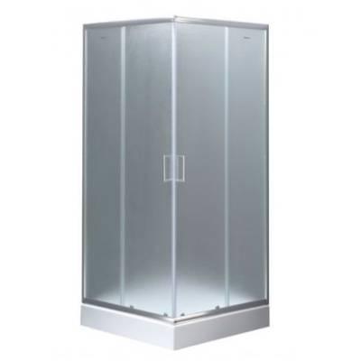 Душевой уголок 90x90 Aquanet SE-900S узорчатое стекло