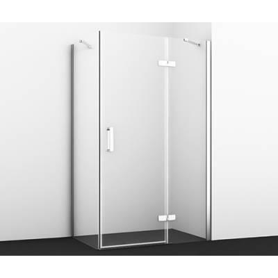 Душевой уголок с распашной дверью 120x80 Wasserkraft Aller 10H06RWHITE