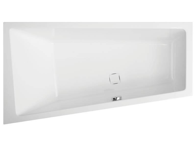 Акриловая ванна Vagnerplast Cavallo левая 160x90x45 см