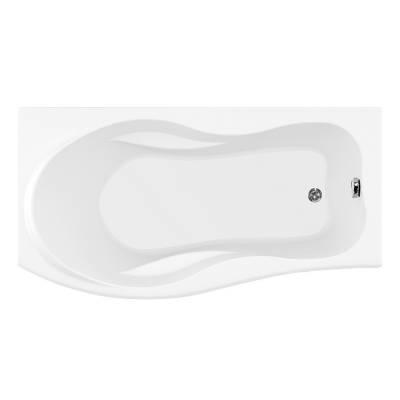 Акриловая ванна Aquanet Borneo 170x90 L левая
