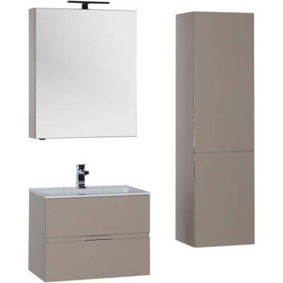 Комплект мебели для ванной Aquanet Алвита 60 капучино