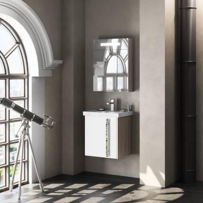 Комплект мебели Smile Стайл 50 белый/орегон