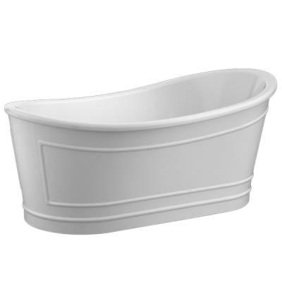 Ванна акриловая Belbagno 167x90x75 см BB32