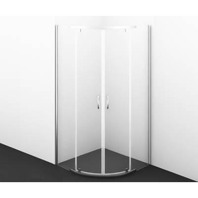 Душевой уголок с распашными дверьми 90x90 Wasserkraft Leine 35P01