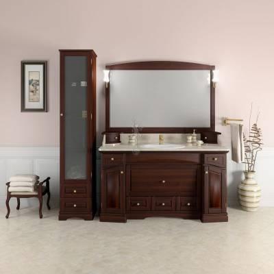 Комплект мебели Opadiris Лучия 150 орех антикварный (мраморная столешница)