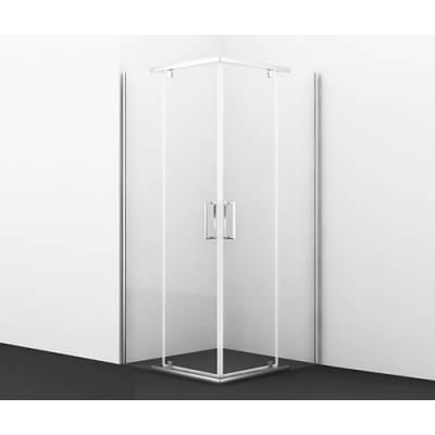 Душевой уголок с распашными дверьми 90x90 Wasserkraft Leine 35P03