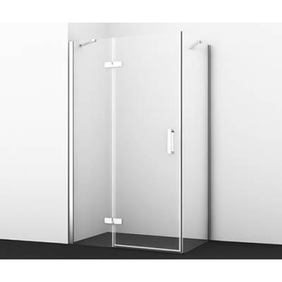 Душевой уголок с распашной дверью 120x80 Wasserkraft Aller 10H06LWHITE