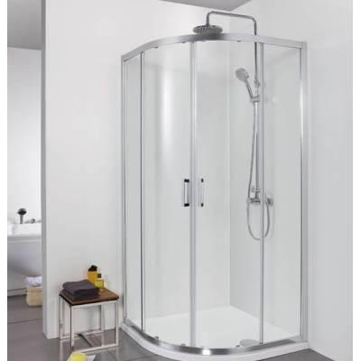 Душевой уголок 100x100 Aquanet Alfa NAA2142 прозрачное стекло