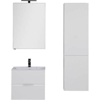 Комплект мебели для ванной Aquanet Алвита 60 белый