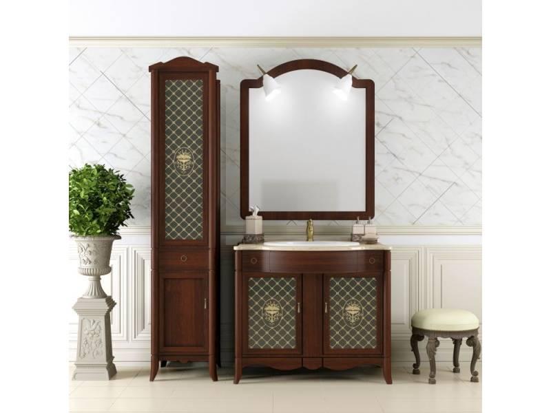 Комплект мебели Opadiris (Опадирис) Виктория 90 см светлый орех с темной патиной