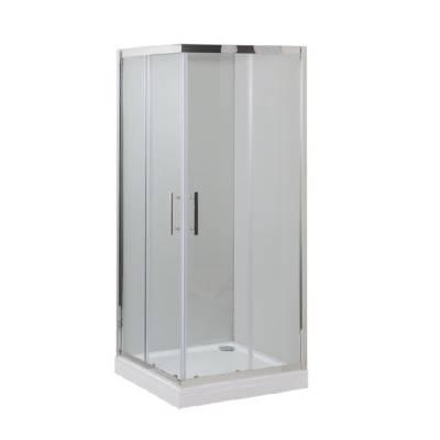 Душевой уголок 100x100 Aquanet Delta Cube NPE1142 прозрачное стекло